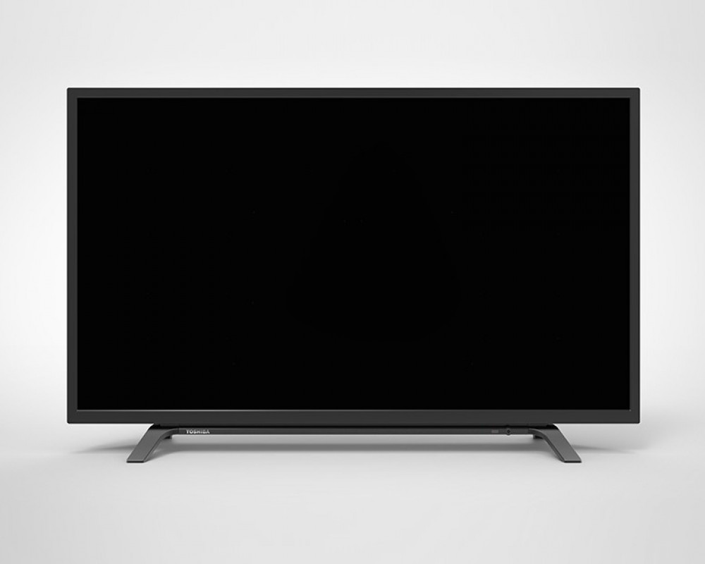 Toshiba LED TV 40 Inch Full HD with 2 USB and 2 HDMI Inputs 40L160MEA