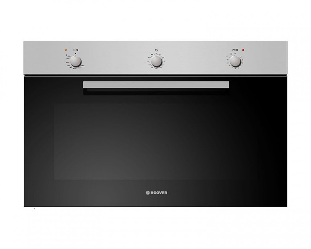 Hoover Gas Oven 90CM Stainless Steel With Cooling Fan and Grill HPG390/1X