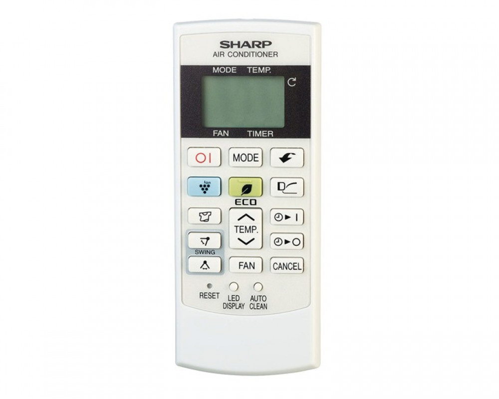 Sharp Air Conditioner 3HP with Inverter Cool Split Digital & Silver Color AH-XP24THE