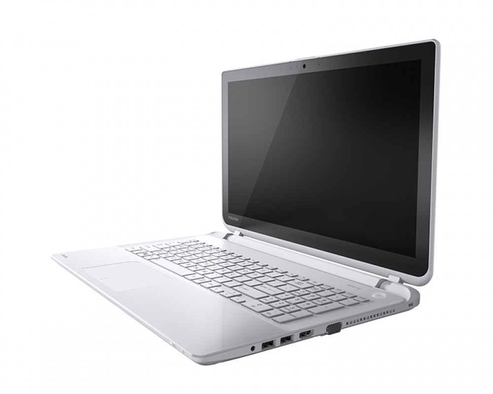 Toshiba Laptop Satellite 750GB & 6GB RAM & Pearl White color L50-B1105