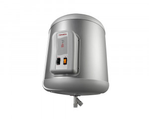 Tornado Electric Water Heater 35 Litre with LED Indicator in Silver color EHA-35TSM-S