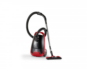 TOSHIBA Vacuum Cleaner 1800 Watt in Black X Red color with curtain brush VC-EA1800