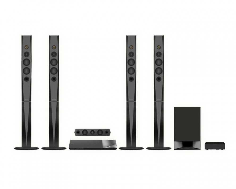 Sony 3D Blu Ray Home Theater System Black BDV-N9200W _3