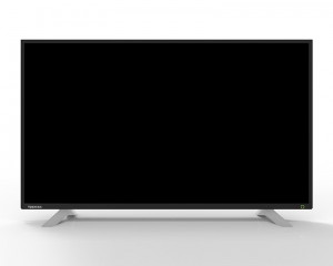 Toshiba LED Display TV 43 Inch Full HD with 2 USB and 3 HDMI Inputs 43L270MEA