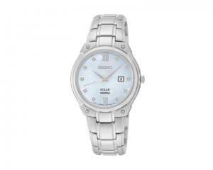 SEIKO Ladies' Hand Watch Solar with 1 year international warranty SUT213P1
