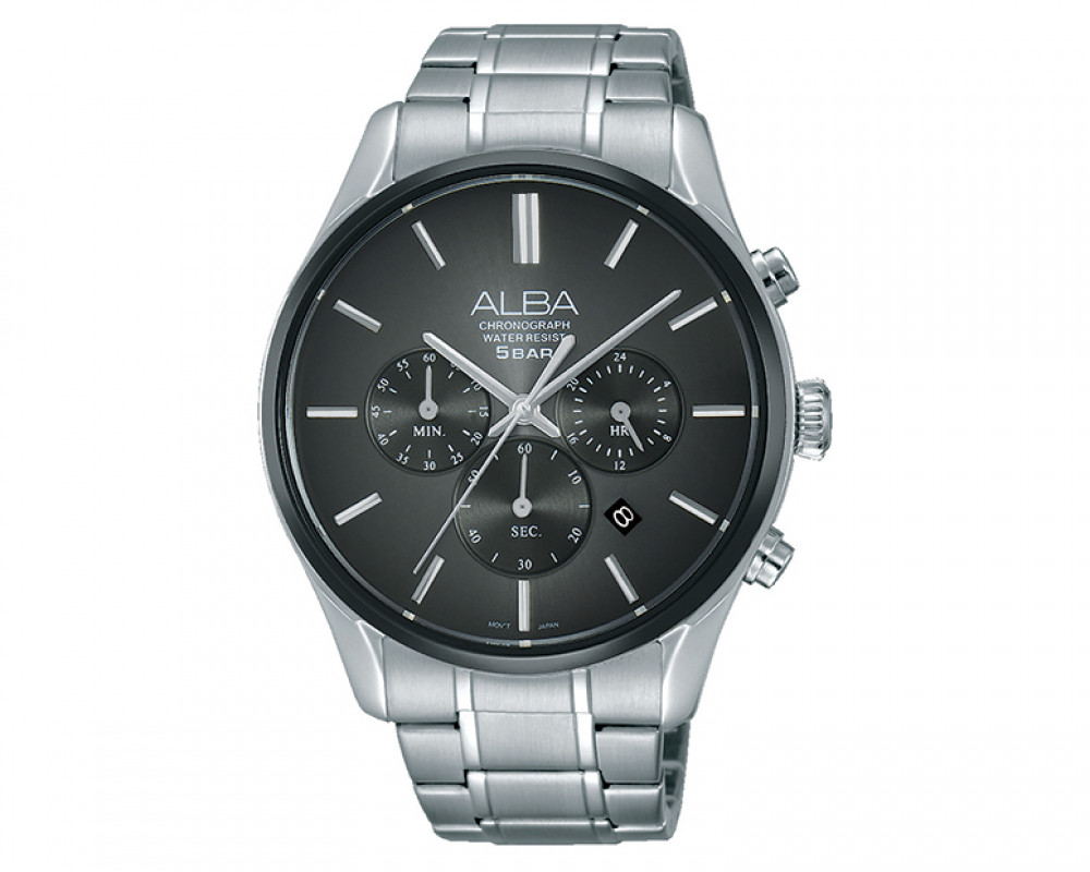 ALBA Men's hand watch Prestige Stainless steel bracelet and water resistant AT3873X1