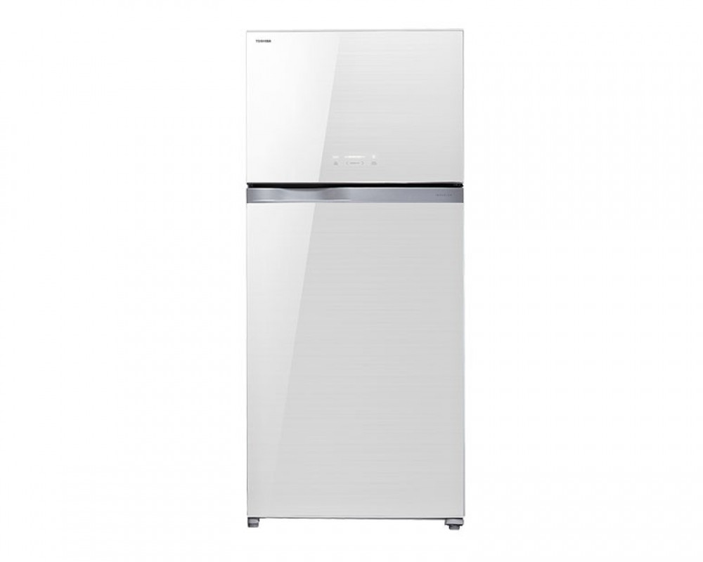Toshiba Refrigerator 2 Door White Glass 664L Inverter GR-WG77UDZ-E(ZW)