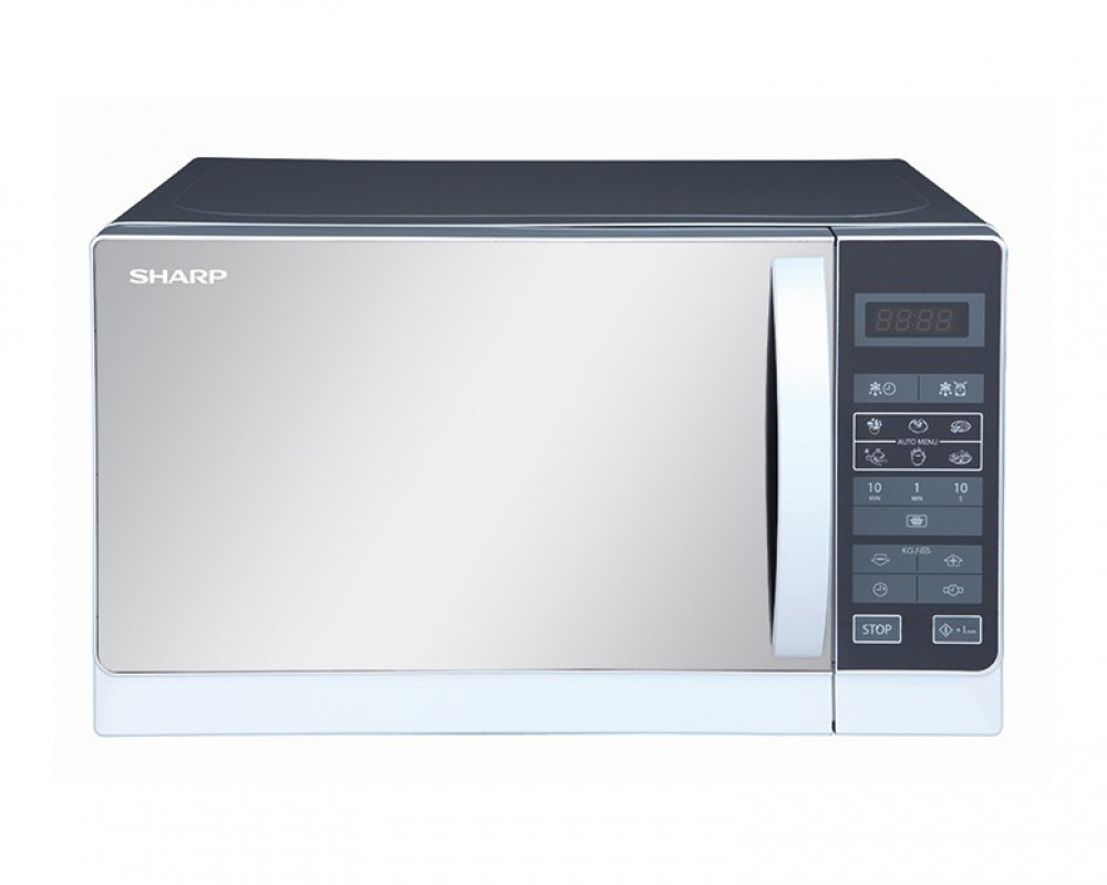 Sharp Microwave 20 Litre with 8 Programs & Child Lock R-20MR(S)