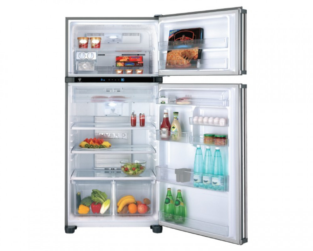 Sharp Refrigerator 2 Door 662l No Frost Sj Pd73s Hs