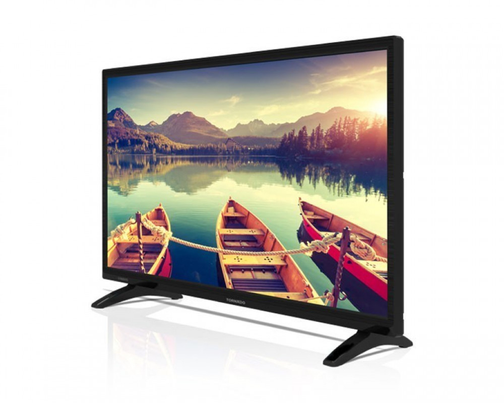 Tornado LED TV 24 Inch HD With USB and HDMI 24ED4150Y
