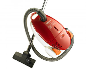 Toshiba Vacuum Cleaner 1600 W Red & Blue color with Dusting Brush VC-EA100