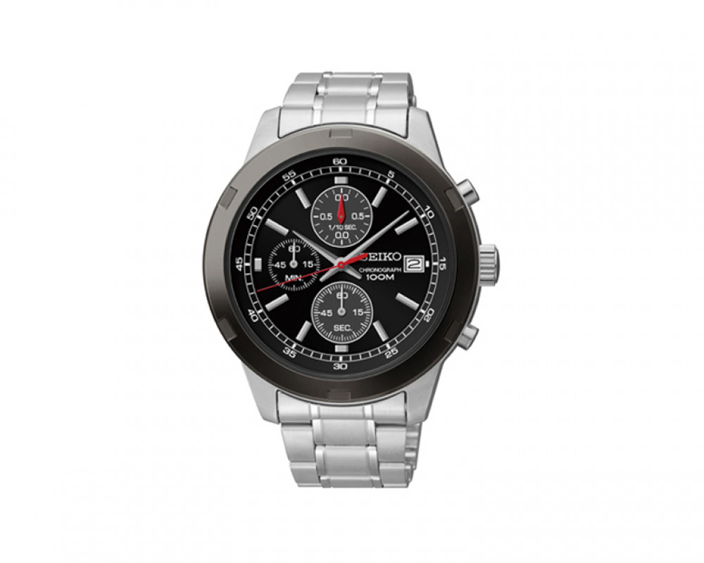 SEIKO Men's Chronograph Hand Watch with 1 year international warranty SKS427P1