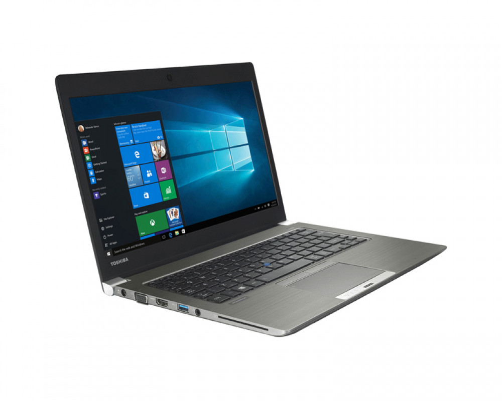 Toshiba Notebook Portégé with Windows 10 512GB & 16GB RAM In Steel Grey color Z30-C-18G