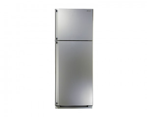 SHARP Refrigerator 340 Litre with Ag+ Nano Deodorizer Filter No frost Silver color SJ-48C(SL)