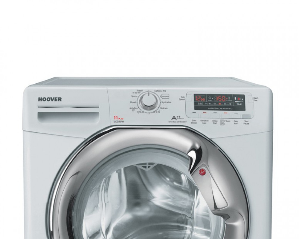 Hoover Washing Machine 11KG Fully Automatic White DYN 11524D2-EGY