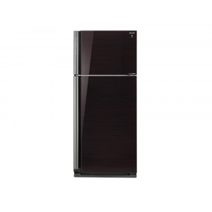 Sharp Refrigerator 642 Litre Inverter technology 2 Glass Black Door with Plasma Cluster SJ-GP75D-BK