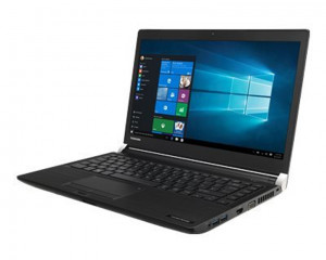 Toshiba Notebook Portégé 1TB & 16GB RAM with Windows 10 In Black Color A30-C-1GM