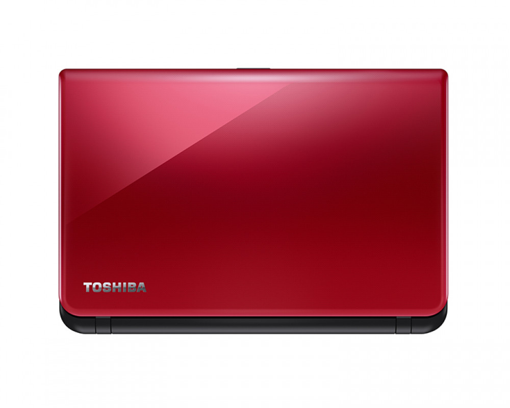 Toshiba Laptop Satellite 1TB & 4GB RAM with Windows 8.1 & Glossy red color C55-C1550