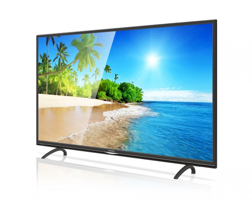 Tornado LED TV 43 Inch Full HD with 2 USB & 2 HDMI 43ED3160