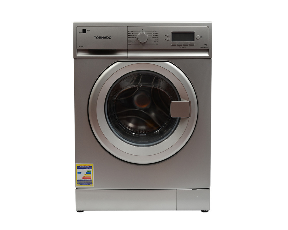 Tornado Washing Machine 7KG Fully Automatic Silver TWFL7-V10S