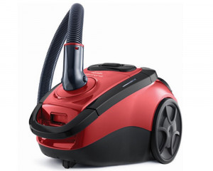 Toshiba Vacuum Cleaner 2000 Watt with Carpet and Floor Nozzle & Black x Red VC-EA220