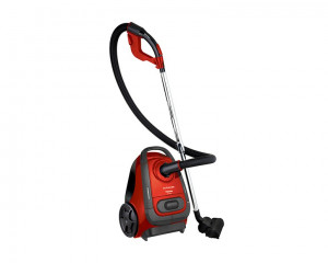 Toshiba Vacuum Cleaner 2500 Watt with 2 Motors and Red Color & Dusting Brush VC-EA300