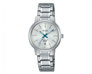 ALBA Ladies' hand watch Prestige Silver white dial and water resistant AH7G87X1