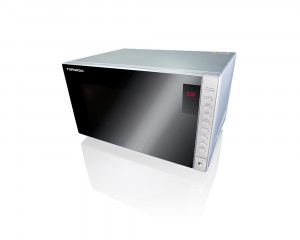Tornado Microwave 25 Liters Silver Color with Grill & Digital Display TM-25SD