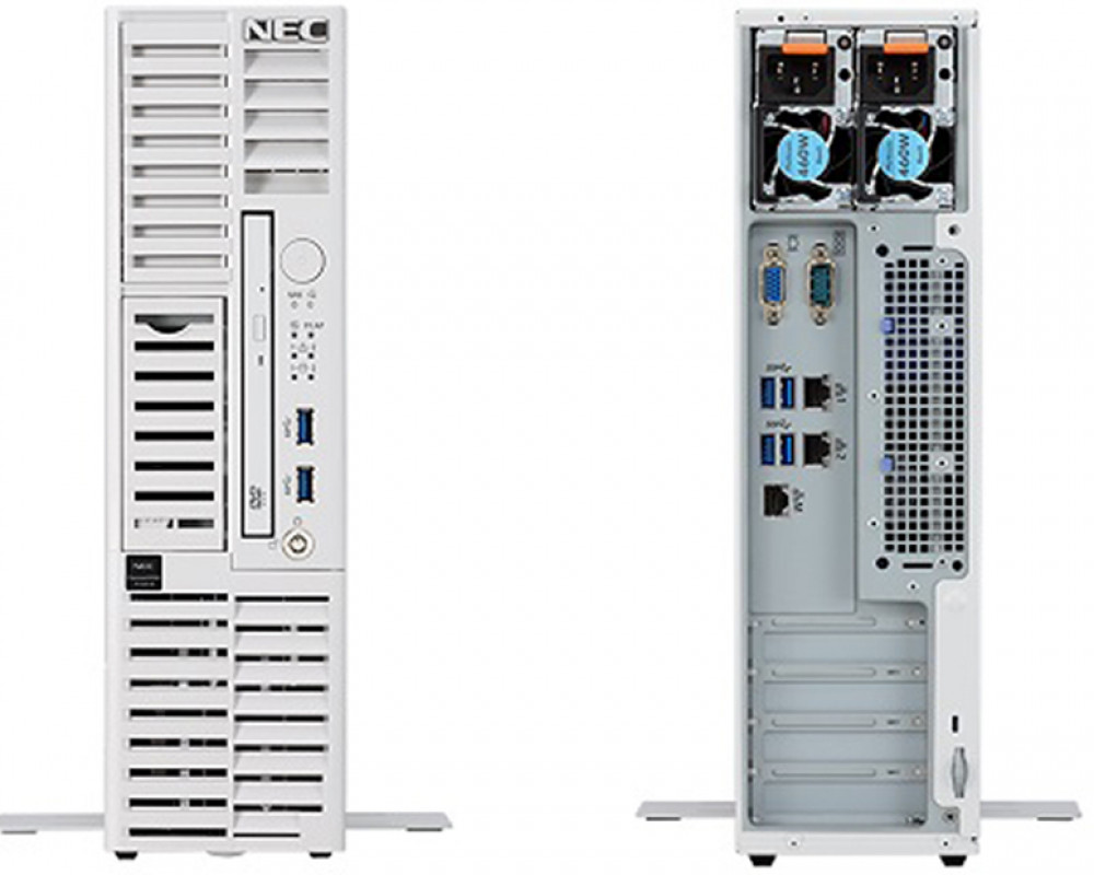 NEC Ultra-compact tower server Express5800/T110h-S