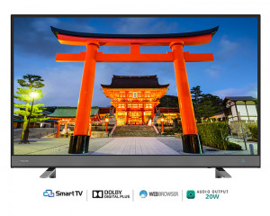 Toshiba Smart LED TV 55 Inch Full HD with Smart Opera & 2USB Inputs 55L570MEA
