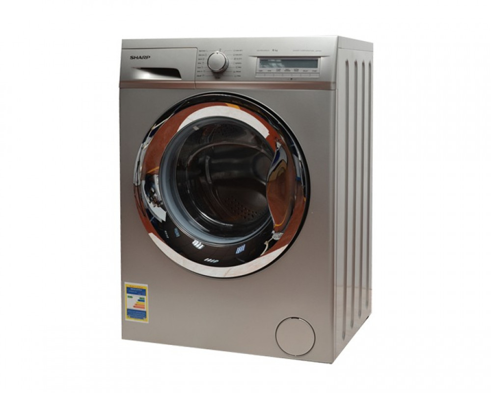 Sharp Washing Machine 9Kg Fully Automatic Silver ES-FP912AX3-S