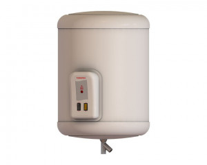 Tornado Electric Water Heater 45 Litre with LED Indicator in Off White color EHA-45TSM-F