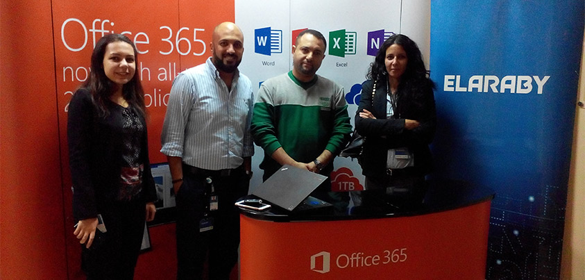 Cooperation between Elaraby Group and Microsoft to update computer systems for 2016 Office