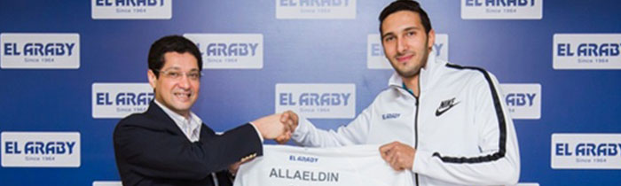 Elaraby Group sponsors Olympic Champion AbulKassem