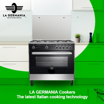 The latest Italian cooking technology now in Egypt - LA GERMANIA Cookers