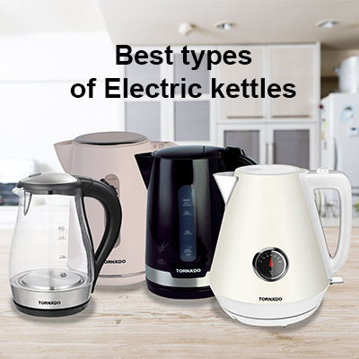 The latest types of electric kettles in Egypt