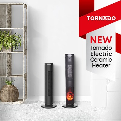 Tornado Ceramic Heaters: New products from ELAraby Group